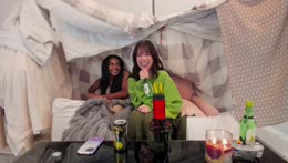 new roommies same soju and a pillow fort