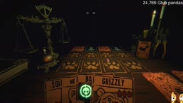 A spooky card game
