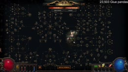 First time playing POE, HC SSF no guide (blind) #Sponsored