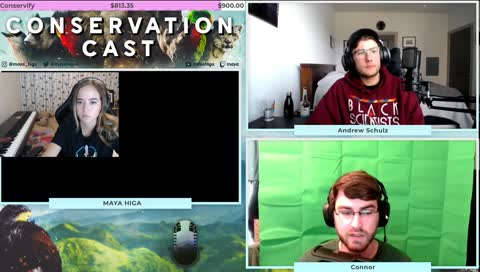 [TECH] CONSERVATION CAST E. 38 with Andrew Schulz for Conservify | !guest !org