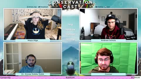 [TECH] CONSERVATION CAST E. 38 with Andrew Schulz, Michael Dobbins, and Connor from AEF for Conservify | !guest !org
