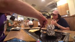 JPN, Tokyo | with !sazz getting Special edition grilled cheese | !socials