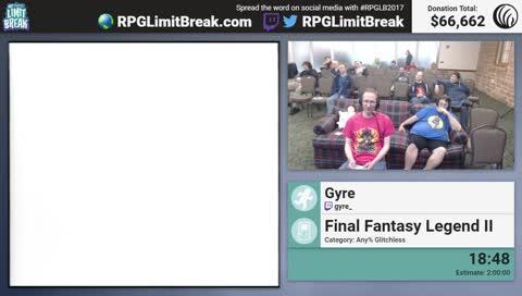RPG Limit Break 2017 - Final Fantasy Legend II by Gyre - Schedule: https://horaro.org/rpglb/2017
