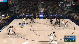 Beautiful defense and rebound by Thrive NODDERS