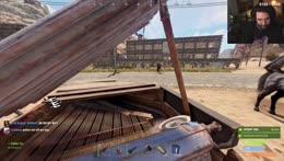 Cyr killing it on piano in Rust