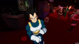 Vegeta Does What He Does Best