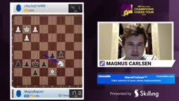 Magnus don't hate the player hate the game