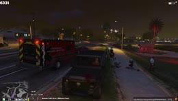 Forcer gets ran over