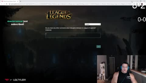 loltyler1 - tyler playing 64d chess in league