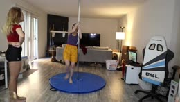 Too old to pole dance
