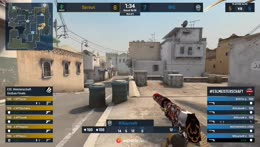 degster - USP-S ACE (with 1vs2 clutch - 5 HS) to turn an initial 2vs5 situation in favor of Sprout