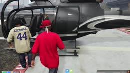 FPS son flies a heli.