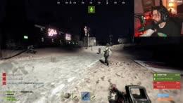 Zombie attack on rust vegas