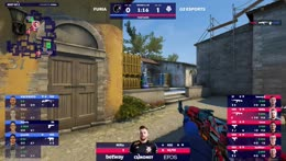 honda - ACE (with 4 quick Deagle HS) to turn an initial 3vs5 situation in favor of FURIA