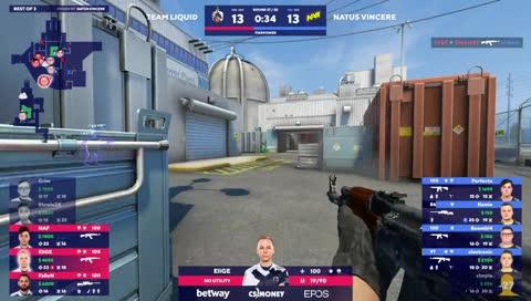 NAF consegue três kills e garante ponto para Team Liquid (Nuke) | draft5.gg