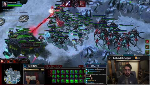 Harstem: This is what playing Zerg feels like...