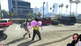 Abdul drops a clown