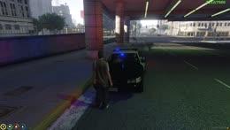 Poke evades the police