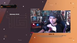 Summit talks about DEALING WITH XQC