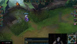 Jungle staying in lane for over 1 whole minute