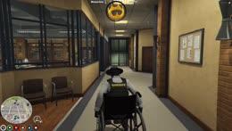 Wheelchair stunting Pog