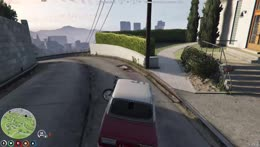 Bogg and Robert did a car trick with Lada