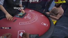 Maggie the dealer