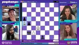 MoistCr1tikal eliminated from Pogchamps 3 by Rainn Wilson