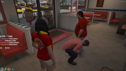 Burger Shot RP getting.. spicy