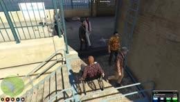 Nino got thrown over the dam