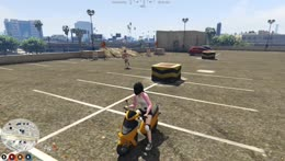 Mel Falls Off A Parking Garage