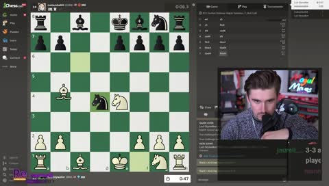 Ludwig plays Andrea Botez, 1 min vs 10 seconds