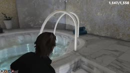 Devine checks tub