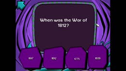 When was the War of 1812?