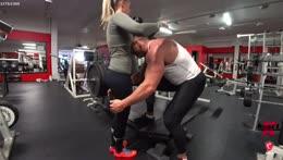 Knut sniffing panties to maximize lift