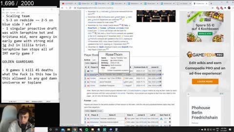 Caedrel analyzing GG