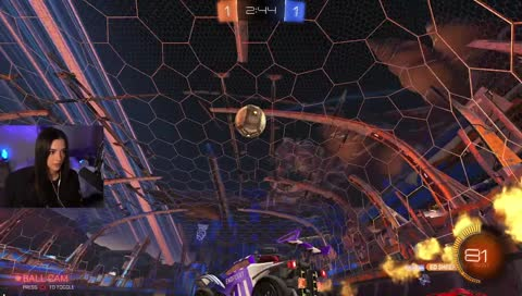 Krissy after being Raided by Rocket League