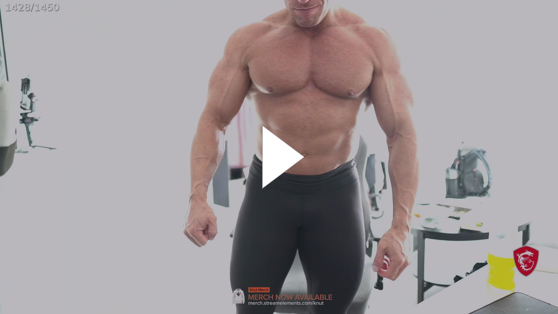 Twitch knut Bodybuilder Knut