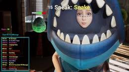 Snake talking & rap god Dr. K