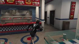 Ka Rate hiding in the kitchen of Burger Shot
