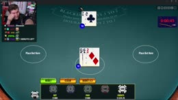 Ludwig puts in 2k and gets double blackjack