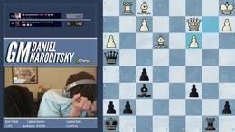 GM Naroditsky calculates an epic tactic!