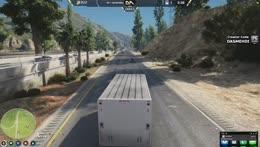 Mehdi Loves Driving Trucks
