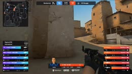 Stev0se - 1vs2 AWP clutch (T - post-plant situation) to set EC Brugge on match point