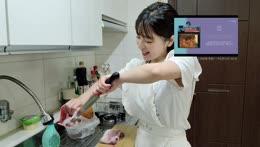 자기야! 오늘 내가 맛있는 요리를 해줄꺼에요!