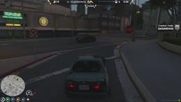 Nino pulls over a cop