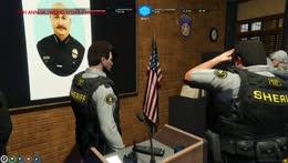 26 cops Pledge Allegiance all at once (waytoodank)