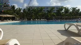 Идите спать, а я нырять )) - Chilll day in Dominican Republic 19/04/21