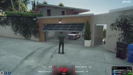 Tony robbing houses