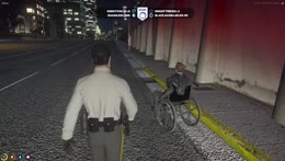 Deputy Mack Pulls Over a Wheelchair